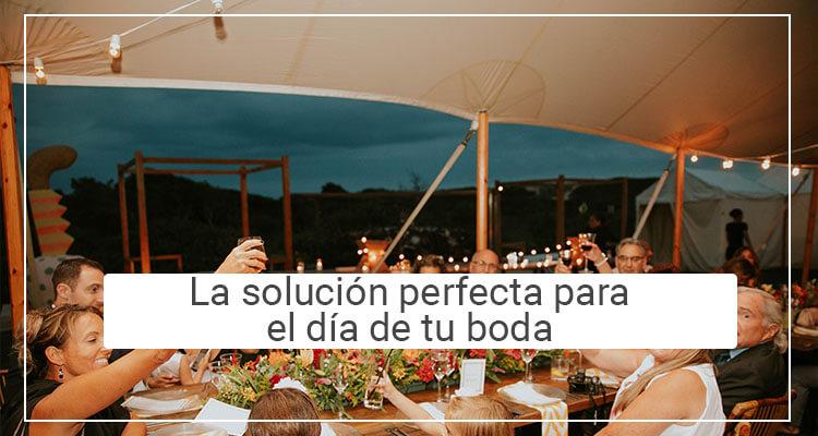 Alquiler de carpas para bodas en León